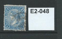 Spain 1867 Queen Isabella II 4c - Gebraucht