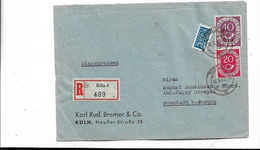 Brief Aus Köln 1952 - Storia Postale