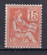 MOUCHON - YVERT N° 117 NEUF REGOMME - COTE = (35) EUR. - 1900-02 Mouchon