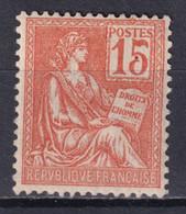 MOUCHON - YVERT N° 117 * MLH - COTE = 10 EUR. - 1900-02 Mouchon