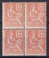 MOUCHON - YVERT N° 117 **/*  MLH (1 TIMBRE MNH) - - 1900-02 Mouchon