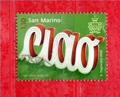 S.Marino ° 2020 -  Francobolli Augurali - CIAO  Usato - Usati