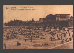 Oostende - Het Strand En Warme-baden Paleis - Oostende