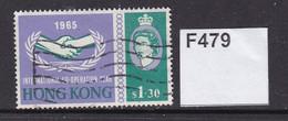 Hong Kong 1965I.C.Y. $1.30 - Gebraucht