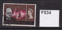 Hong Kong 1966 Churchill Commemoration $1.30 - Gebraucht