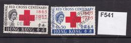 Hong Kong 1963 Red Cross Centenary - Gebraucht