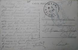 G 3 1939  CP En Fm Poste Navale Lorient - Seepost