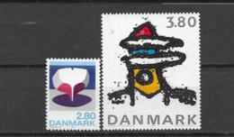 1985 MNH Danmark, Michel 851-2  Postfris** - Nuevos
