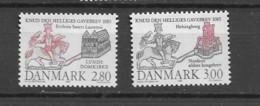 1985 MNH Danmark, Michel 840-41  Postfris** - Nuevos
