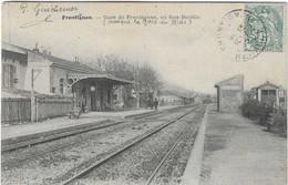 34 HERAULT FRONTIGNAN LA GARE 1905 ANIMATION BEAU PLAN A  VOIR - Frontignan