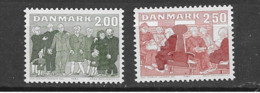 1983 MNH Danmark, Michel 788-89  Postfris** - Nuevos