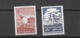 1981 MNH Danmark, Michel 738-39  Postfris** - Nuevos