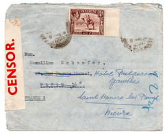 Aden  -  Env Ouverte Par Censure 29/10/1939 - Aden (1854-1963)