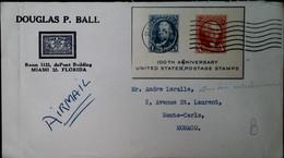 G 3 1951 Lettre Bloc100e An Des Tp - Briefe U. Dokumente