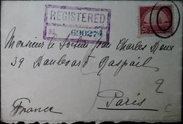 G 3 1930 Lettre Pour Paris - Briefe U. Dokumente