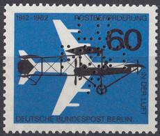BERLINO - 1962 - Yvert 205 Nuovo MNH PERFIN. - Neufs