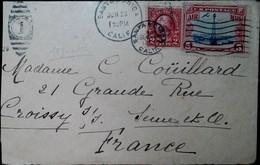G 3 1929 Lettre Pour Paris Par Avion  Manque Rabat Au Dos - Briefe U. Dokumente