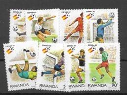 1982 MNH Rwanda - 1980-89: Neufs