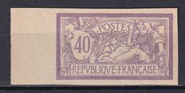 MERSON - RARE ESSAI DE COULEUR (*) Avec BORD DE FEUILLE - SIGNE SCHELLER - - 1900-27 Merson