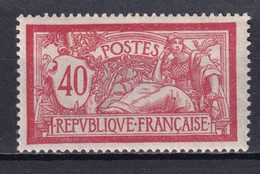 MERSON - YVERT N°119 * MLH - CHARNIERE TRES LEGERE ! - COTE = 16 EUR - 1900-27 Merson