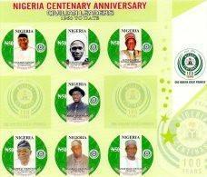 2014 NIGERIA - Centenary - Nigeria (1961-...)