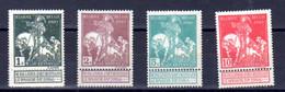 Belgique 1910, Expo Caritas De Bruxelles, 88 / 91 Sans Gomme, Cote 17 € - 1910-1911 Caritas