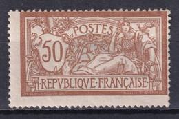 MERSON - YVERT N° 120d * MH TRES LEGERE ALTERATION PARTIELLE DE GOMME - COTE = 125 EUR. - 1900-27 Merson