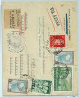 94061 - ARGENTINA - POSTAL HISTORY - REGISTERED COVER To AUSTRIA  1957 Consular Mail - Briefe U. Dokumente
