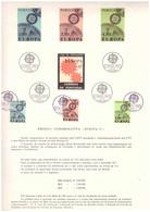 EU27  -  PORTOGALLO 1967   /  BOLLETTINO  FDC  2.5.1967  -  CAT, MICHEL NR. 1626/1628 - 1967
