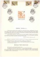 EU29  -  PORTOGALLO 1976   /  BOLLETTINO  FDC   3.5.1976  -  CAT, MICHEL NR.  1311/1312 - 1976