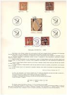EU30  -  PORTOGALLO 1975   /  BOLLETTINO  FDC   26.5.1975  -  CAT, MICHEL NR.  1281/1282 - 1975