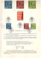 EU31  -  PORTOGALLO 1966   /  BOLLETTINO  FDC   26.9.1966  -  CAT, MICHEL NR.  1012/1014 - 1966