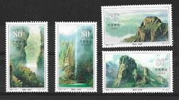 CHINA 2002 Yandang Mountain MNH - Ungebraucht