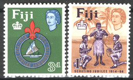 Fiji 1964 Y.T.185/86 **/MNH VF - Fidschi-Inseln (...-1970)