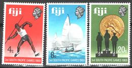 Fiji 1969 Y.T.259/61 **/MNH VF - Fidschi-Inseln (...-1970)