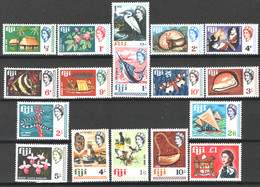Fiji 1968 Y.T.219/35 **/MNH VF - Fidschi-Inseln (...-1970)