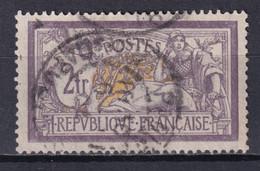 MERSON - YVERT N°122 OBLITERE - COTE = 90+ EUROS - TRES BEAU CENTRAGE ! - 1900-27 Merson
