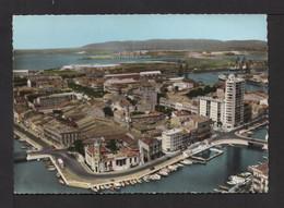 CPSM Gf . 34 . SÈTE . Vue Générale Sur La Ville Et Le Port . - Sete (Cette)