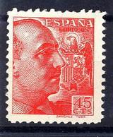 España 0871 **. Franco. Sanchez Toda.1939 - 1931-50 Unused Stamps