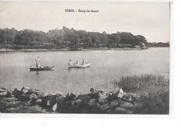 DEP. 56 THEIX - ETANG DU GRANIL Barques, Circulée - Altri Comuni