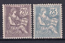 1902 - MOUCHON - YVERT 126/127 ** MNH FAUX DANGEREUX ! FORGERIES - POUR REFERENCE - COTE = (900) EUR. - - 1900-02 Mouchon