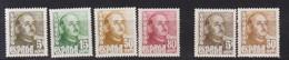 Año 1948 Edifil 1020 A 1023 General Franco , Variantes Color - 1931-50 Unused Stamps