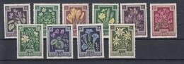 Österreich Michel Kat.Nr.  Postfr/** 868/877 - 1945-60 Unused Stamps