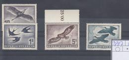 Österreich Michel Kat.Nr.  Postfr/** 984/987 - 1945-60 Unused Stamps