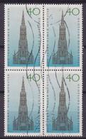 Bundespost 1977 Mi. 937 Ulmer Münster 4-Block !! - Blocs