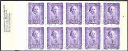 ZWEDEN 1970 Postzegelboekje Nobel 1910 10x 45õre PF-MNH-NEUF - 1951-80