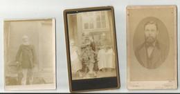Photographies Vers 1880 De Mr Lallemand Louis Gustave , Honfleur , Imprimeur Par F.Gervais - Alte (vor 1900)