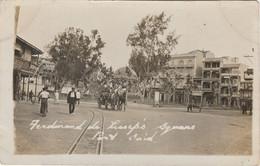 Egypt Postcard Port Said Ferdinand De Lessups Square 1920 - Port Said