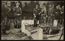 Postcard / ROYALTY / United Kingdom / King George V / Tir National / Edith Cavell / 1922 / Visit To Belgium / Schaarbeek - Guerra 1914-18