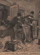 LE PETIT PARISIEN 12 02 1893 - AFFAIRE DE L'AVENUE MARCEAU VOLEURS HOTEL- GENERAL DELEBECQUE - CHATILLON EN DUNOIS - - 1850 - 1899